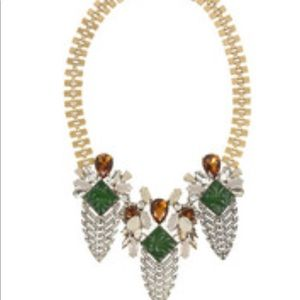 J.Crew Arrowhead Crystal Necklace
